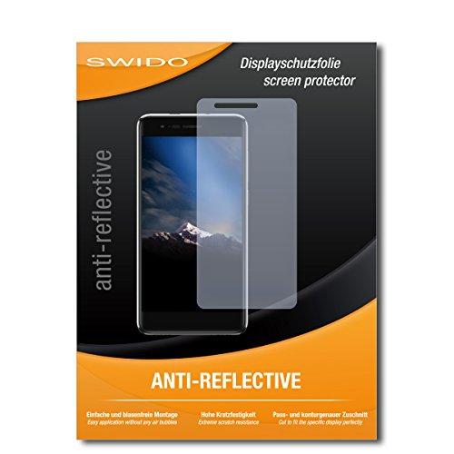 SWIDO Schutzfolie für Phicomm Energy 4s [2 Stück] Anti-Reflex MATT Entspiegelnd, Hoher Festigkeitgrad, Schutz vor Kratzer/Bildschirmschutz, Bildschirmschutzfolie, Panzerglas-Folie