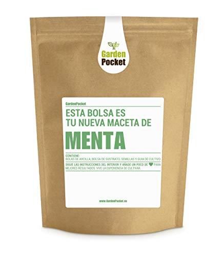 Garden Pocket - Kit de Cultivo de MENTA - Bolsa Maceta