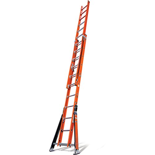 Little Giant SumoStance Extension Ladder - 28Ft, 375Lb. Capacity, Type 1AA Fiberglass, Model# SUMO 28 1AA