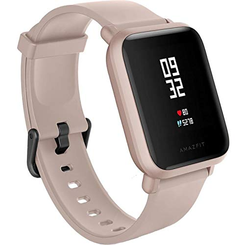 Amazfit Bip Lite SmartWatch Monitor de Actividad Fitness Resistente al Agua 30 Metros Pulsómetro Modos Deportivos iOS & Android (Versión Internacional - 45 días de Batería) Negro