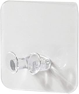 Draagbare transparante stekkerhaak Zelfklevende opberghaak Draadstekkerbeugel transparant