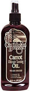 Caribbean Breeze-Golden Tanning Carrot Oil, 8.5 oz (250 ml)