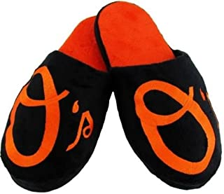 Forever Collectibles Baltimore Orioles MLB Licensed Embroidered Big Logo Men's Slippers