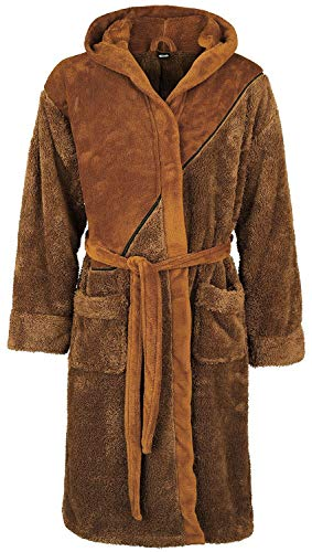 Star Wars Ewok Bademantel braun one Size