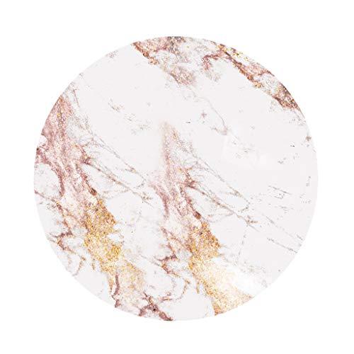 Baoblaze Nappe de Table Ronde pour Maison Restaurant Mariage Cérémonie Multicolore - B - 1,2 m (47 Pouces)