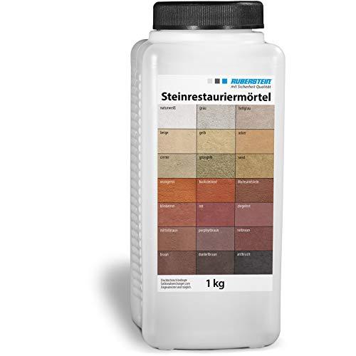 Orig. Ruberstein Steinrestauriermörtel/Reparatur mörtel/Sandstein 1 kg (sand)