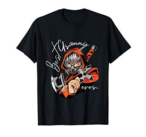 Ninja Granny - The World's Best Grandmother T-Shirt