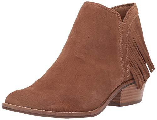Lucky Brand Women's FREEDAH Ankle Boot, Honey, 11 M US