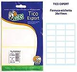 TICO E-3819A Bolsa de 210 etiquetas