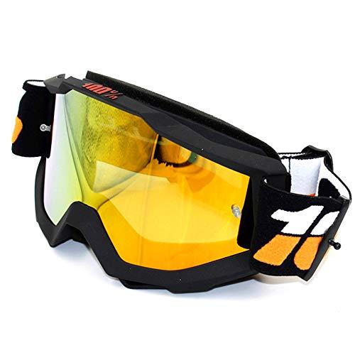 WOXING para Los Hombres Mujere Gafas,Grande Vintage Carrera Gafas,Ciclismo Conducir Conducen Gafas De Moda,Aire Libre Deportes Deportivas Esquiando Beisbol Gafas-Negro 20x11.5cm(8x5inch)