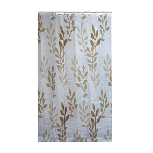 FRANDIS Duschvorhang, Polyester, 180x200 cm Beige/Braun