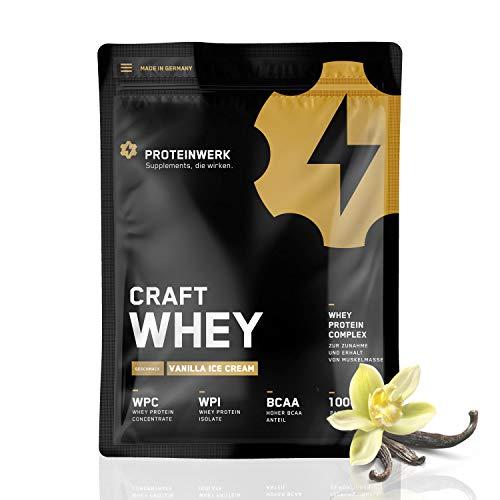 Whey Body Shape Protein Shake Kalorienarm 1 Kg Vanille I Eiweißpulver Iso, Aminosäuren & Proteine sind ideale Nährstoffe I Kann Sie beim Abnehmen & Muskelaufbau unterstützen I Made in Germany