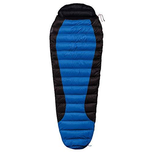 Warmpeace Viking 300 Schlafsack, Blue-Grey-Black, L 195cm