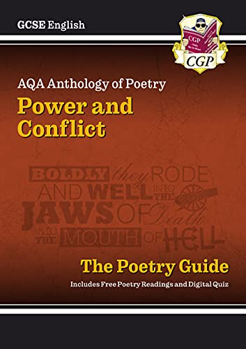 New GCSE English AQA Poetry Guide - Power & Conflict Anthology (CGP GCSE English 9-1 Revision) (English Edition)