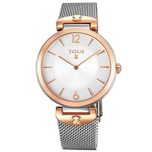 TOUS S-MESH SS/IPRG 700350285 Woman Watch Rose Gold