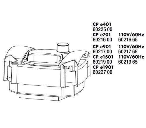 JBL CP e1901 Überwurfmutter Schlauchanschl.(2x)