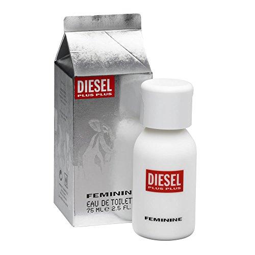 Diesel Plus Feminine 75 ml edt spray, Zapatillas Unisex adulto, Negro, Una talla