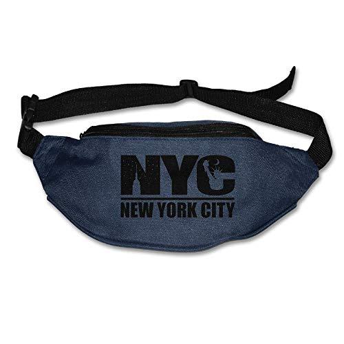 Sac Banane Sac à la Taille La Ville de New York Bretelles Réglables Ceinture de Course Poche d'entraînement