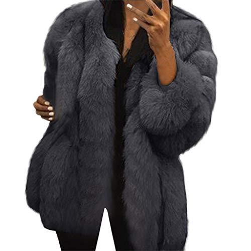 Fossen MuRope Abrigos Mujer Invierno Rebajas Elegantes Largos, Sudadera Mujer Cremallera Abrigos Desigual Mujer Nieve Felpa - Suéter Parkas Chicas, Blogger de Moda