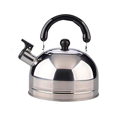 ZMHVOL Stainless Steel 3 Litre IModern Whistling Teapot, for ICooker Teapot Coffee Pot Indoor Outdoor Kettle BPA-Free Tea Kettle WANGHN