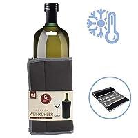 portabottiglie termico con 8 scomparti refrigeranti   rinfrescatore bottiglie per raffreddare bottiglia vino   raffredda bottiglie per vino freddo