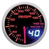 SUMEX Indicador de temperatura de agua Race Sport Perfomance 52mm de diámetro. Reloj con iluminación LED blanca/roja-ambar modo día/noche. Indicación con aguja analógica y con display digital.