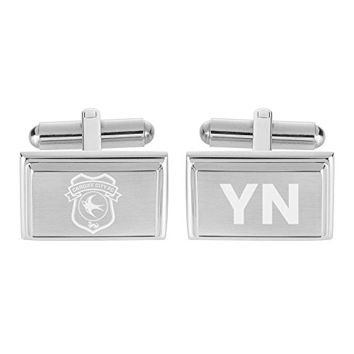 Personalised Sports & Photo Gifts Compatible with Cardiff City FC Personalised Crest Cufflinks