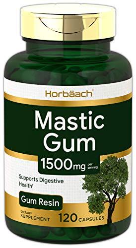 Horbaach Mastic Gum 1500mg 120 Capsules | Non-GMO & Gluten Free