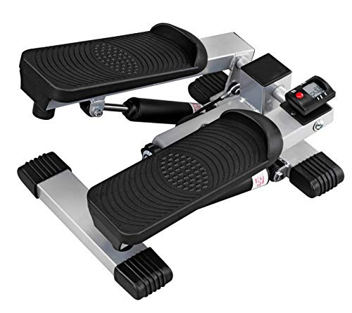 DMI Under Desk Stair Stepper to use as Exercise Equipment or Physical Therapy with Digital Monitor and Step Tracker, No Assembly Required, Batteries Included