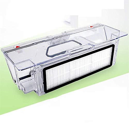 Piezas de Repuesto de la aspiradora Ajustarse For Las Partes De XIAOMI Robot Aspiradora, Cubo De Basura con Filtro HEPA Reemplazable Accesorios de aspiradora