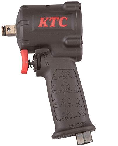 京都機械工具(KTC) 12.7sq エアインパクトレンチ(フラットノーズタイプ) JAP418 コンパクト&ハイパワー 本体: 奥行17.6cm 本体: 高さ6.5cm 本体: 幅9.9cm エアカプラ、エアツール用オイル