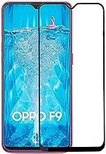 لاصقة حماية زجاجية مقاومة للصدمات من اوبو F9 (F9 Pro) - اسود