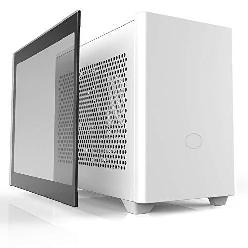 Cooler Master MasterBox NR200P ホワイト Mini-ITX/DTX PCケース 強化ガラスパネル付属 SFX電源対応 CS790...