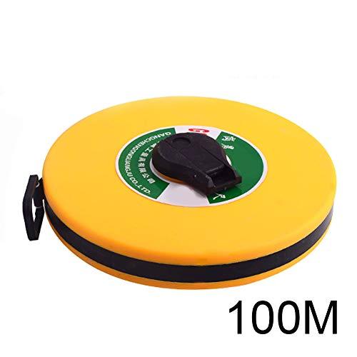 Juntful Meter Tape, 10/20/30/50/100M Handschijfliniaal, timmerman, metrisch meetlint, meetinstrument