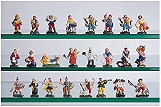 Decoración de Navidad con figuras para el Belén: pastores surtidos (