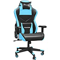Yitahome Big & Tall Massage Gaming Chair with High Back (Blue)