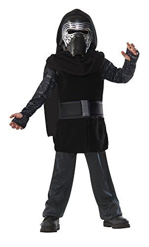 Star Wars - Disfraz de Kylo Ren para niños, infantil 8-10 años (Rubie's 620881-L)