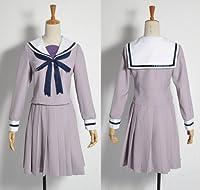 cos1099ノラガミ 壱岐ひより セーラー服 コスプレ衣装(女性M)