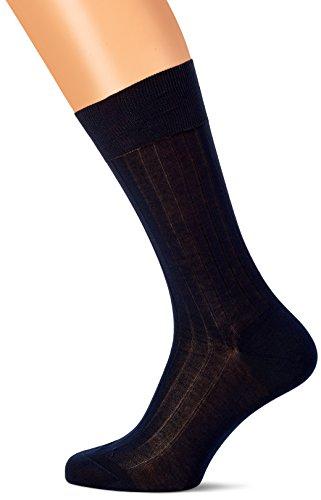 Hackett Herren SOLID Socken, Blau (Navy 595), Medium/Large