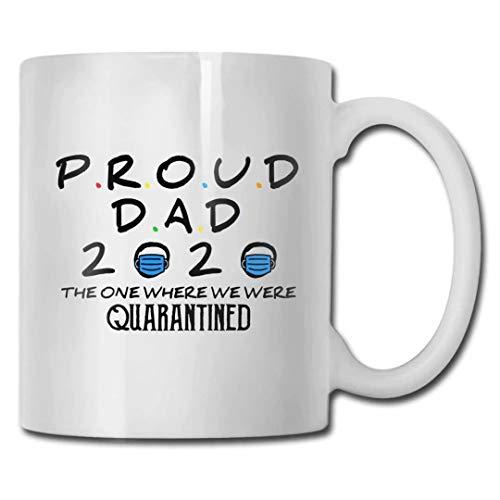 Milkkktt 2020 Memorial Tazza di caffè,Festa del papà 2020 Divertente Regalo in Quarantena per papà, Perfetto per Regalare O Collezionare - Divertente Tazza di caffè O tè