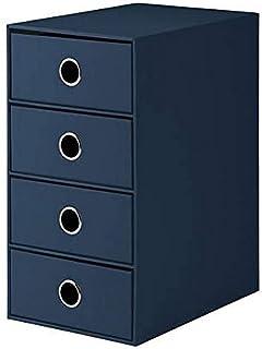 Rössler 1524452904 Module de rangement 4 tiroirs Bleu marine (Import Allemagne)