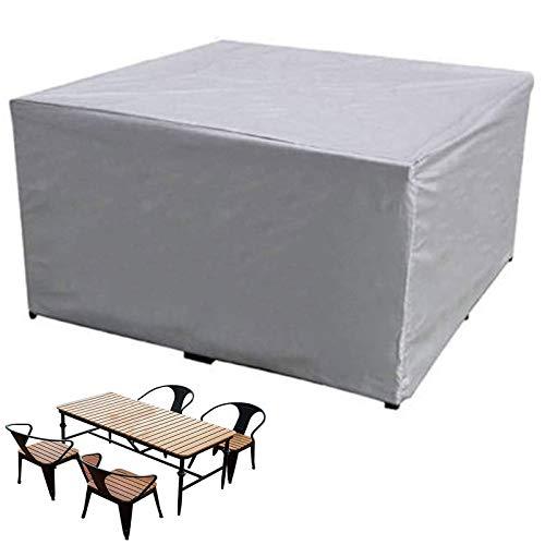 Fundas Muebles Jardín,impermeable Resistente Polvo Anti-Uv Protección Exterior Muebles Jardín Cubiertas ,210D Oxford Funda Muebles Patio Terraza,utiliza para Prevención Polvo Mesas Sillas Aire Libre