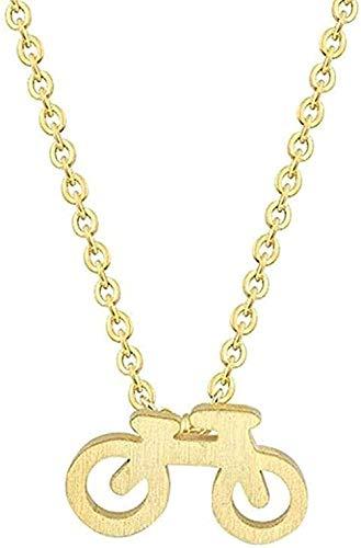 LBBYMX Co.,ltd Halskette Mountainbike Charme Anhänger Halskette Kragen Minimalistischer Schmuck Anhänger Halskette Geschenk für Frauen Männer Mädchen Jungen