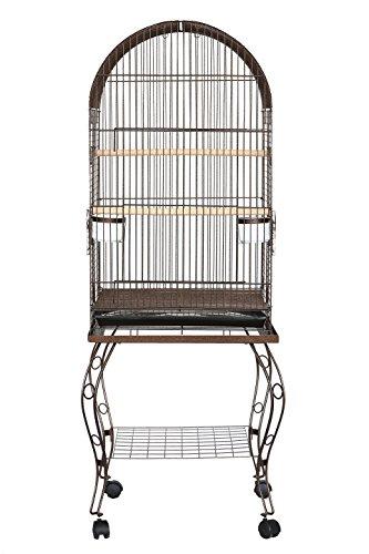 YML Parrot Cage, Antique Copper