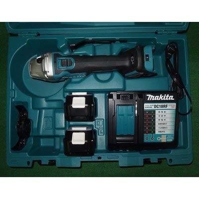 マキタ GA412DRGX 18V-100mm充電式ディスクグラインダ ダイヤル変速付 6.0Ahバッテリ2個付セット