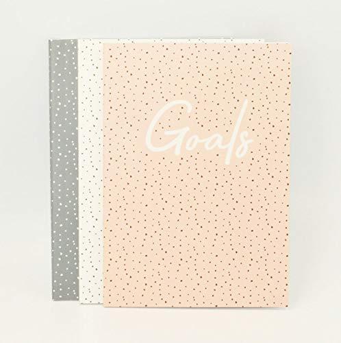 Cuaderno A6, paquete de 3 puntos.