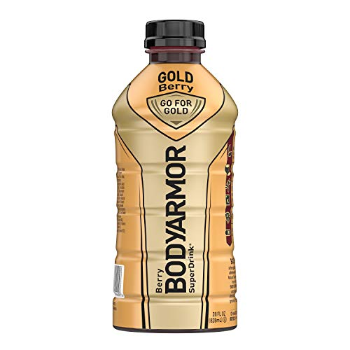 BODYARMOR Sports Drink Sports Beverage, Gold Berry, Natural Flavors With Vitamins, Potassium-Packed Electrolytes, Perfect For Athletes, 28 Fl Oz (Pack of 12)