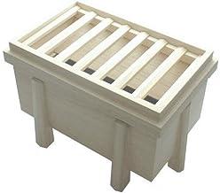 桐製 お賽銭箱型の貯金箱(大)