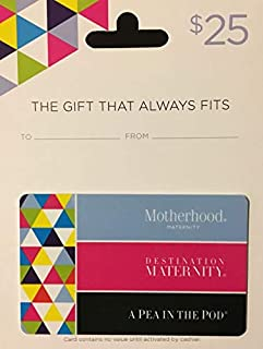 maternity gift card