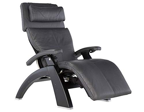 Perfect Chair Human Touch PC-610 Omni-Motion Power Black Matte Zero-Gravity Recliner + Jade Heat Therapy Kit - Gray Premium...